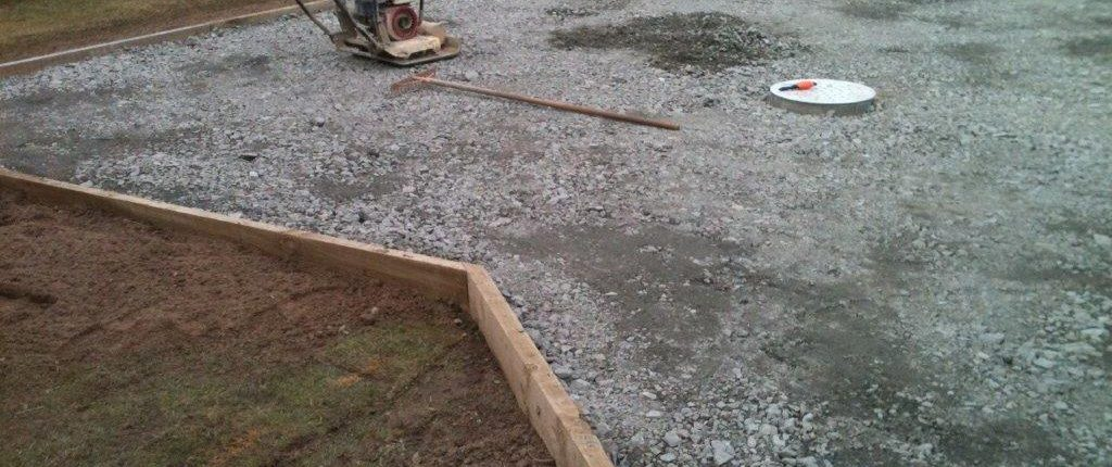 Fixing pooling in driveway